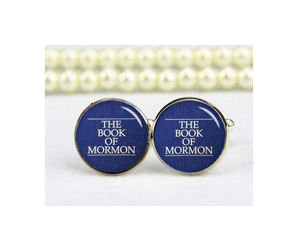 Book of Mormon Cuff Links, Mormons cuff links, LDS gift, personalized cufflinks, wedding cufflinks, groom gifts