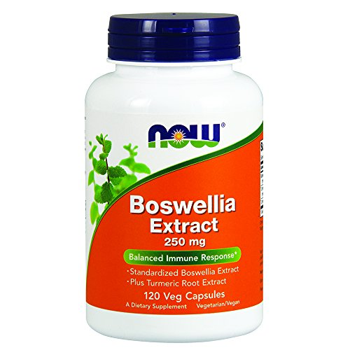 NOW Boswellia Extract 250 mg,120 Veg Capsules