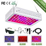 LED Grow Lights 1000w Full Spectrum Panel Grow Light with Bloom and Veg