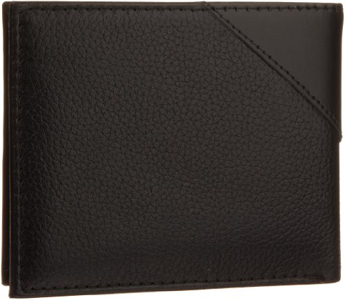 Guess Men's Monterrey Passcase Wallet, Black, One Size