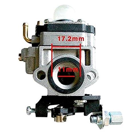 Carburador de Carb para SHINDAIWA T242X T242 LE242 Trimmer ...