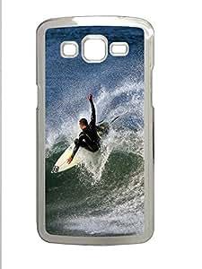 Samsung 2 7106 Case Landscapes surfer PC Samsung 2 7106 Case Cover Transparent