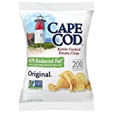 Cape Cod Potato Chips, Reduced Fat Original, 1.5 Ounce (Pack of 42)