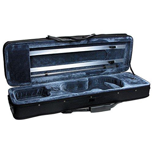 (Featherweight C-3960 Deluxe Violin Case - Rectangular - 4/4 Size )