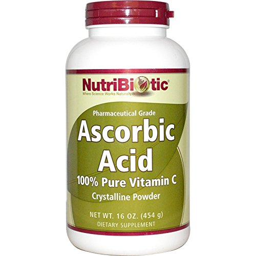 NutriBiotic, Ascorbic Acid, Crystalline Powder, 16 oz (454 g) - 3PC by Nutribiotic