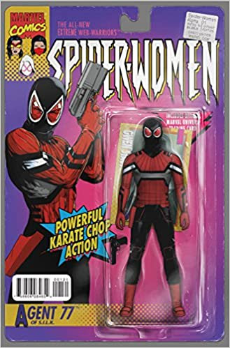 Recommend you spider woman variant cover