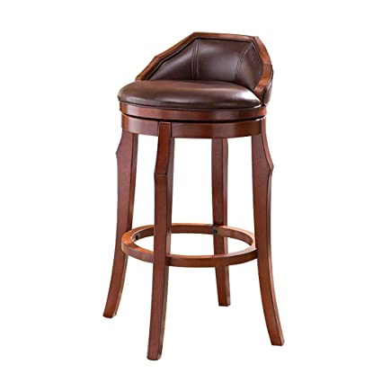Miraculous Amazon Com Cylq Rotating Solid Wood Bar Stools Swivel Unemploymentrelief Wooden Chair Designs For Living Room Unemploymentrelieforg
