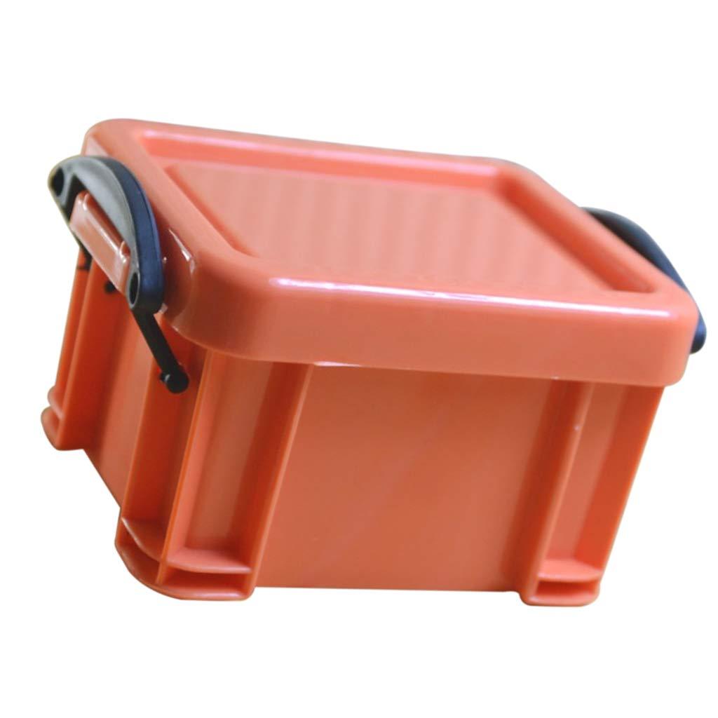 Flameer Candy Color Creative Home Furnishing Trumpet Mini Lock Box Super Cute - Orange