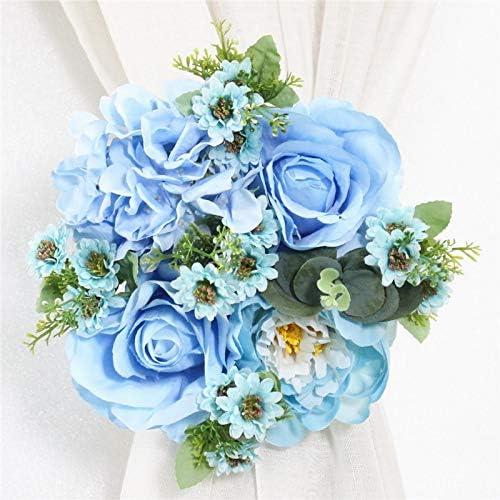 UTREND - Guirnalda de flores artificiales para decoración del hogar ...