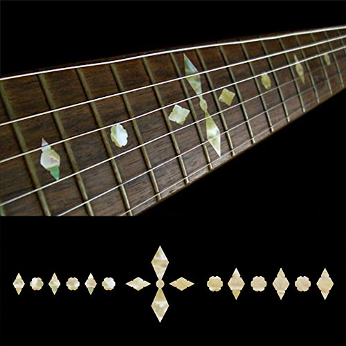 - Fretboard Markers Inlay Sticker Decals for Guitar & Bass - Checker Diamonds - AWP