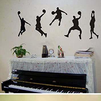 Decalcomanie decalcomanie sport giocare a basket racer ...