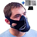 #8: Elevation Mask | Workout Training Mask | 3.0 | 4 Levels / Difficulty | W/ Carrying Bag | Altitude Elevation Oxygen Resistance Training for Running Athletic Fitness Exercise MMA (Small/Medium/Large)