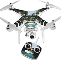 Skin For DJI Phantom 3 Standard – Difficult Roads | MightySkins Protective, Durable, and Unique Vinyl Decal wrap cover | Easy To Apply, Remove, and Change Styles | Made in the USA