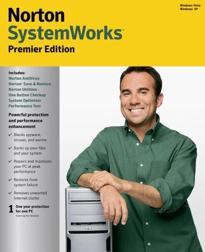 Norton SystemWorks 2008 Premier Edition 11.0 [OLD VERSION]