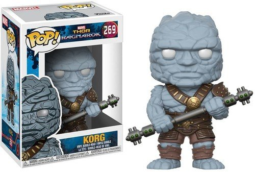 Funko Pop Marvel: Thor Ragnorok - Korg Collectible Vinyl Fig