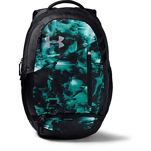 Under Armour Hustle 4.0 Backpack, Mod Gray (011)/Black, One Size Fits All (Best Backpacks For 2019)