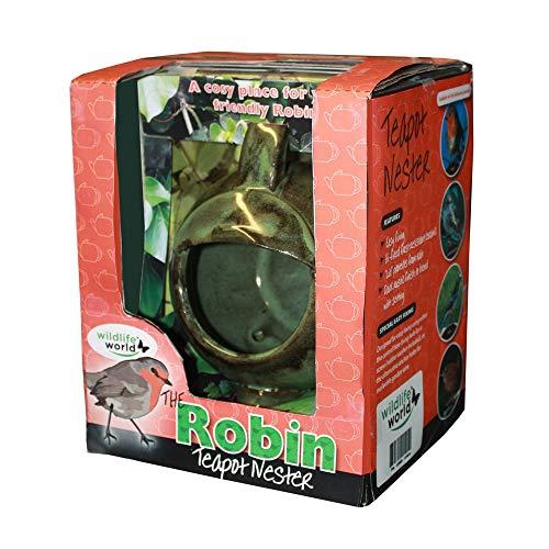 Wildlife World Robin Teapot