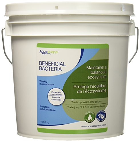 Aquascape Dry Beneficial Bacteria for Pond and Water Features, 7-Pound | 98950 ()
