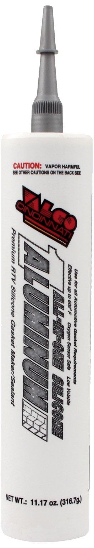Valco Cincinnati 71202 All-In-One Aluminum Silicone with Nozzle - 11.17 oz. Cartridge