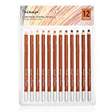 Dainayw Soft Skin Tone Pastel Pencils,5mm Core,12 Piece Premier Colored Pencils For Artist Drawing,Sketching - Portrait Set