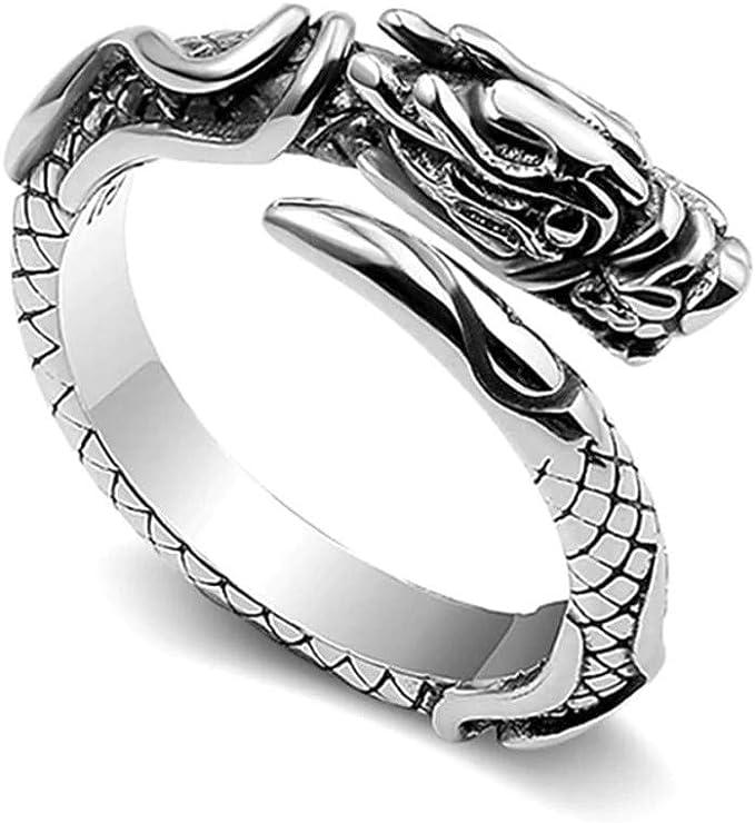 Sterling Silver pendant with 3 brass rings \u00b7 Ouroboros \u00b7 rustic jewelry \u00b7 talisman \u00b7 infinity