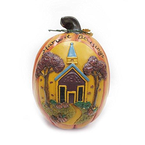 Harvest Blessings Pumpkin - 5