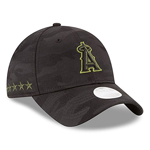 43f24a820b1c4 Los Angeles Angels Camouflage Caps. New Era Women  s ...