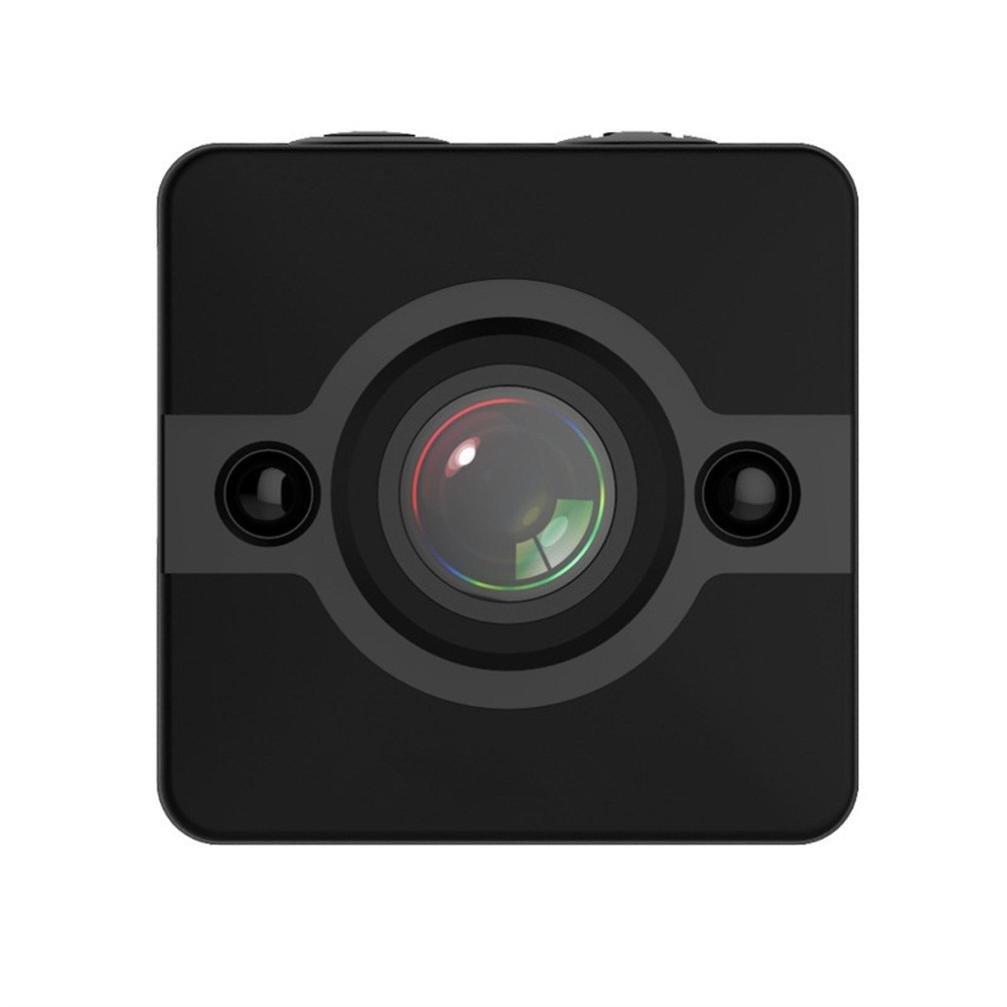 SQ12 Mini Full HD 1080p DV Deportes cámara de acción con IR visión nocturna y detección de movimiento 32 GB espía oculta cámara coche DVR grabador de vídeo ...