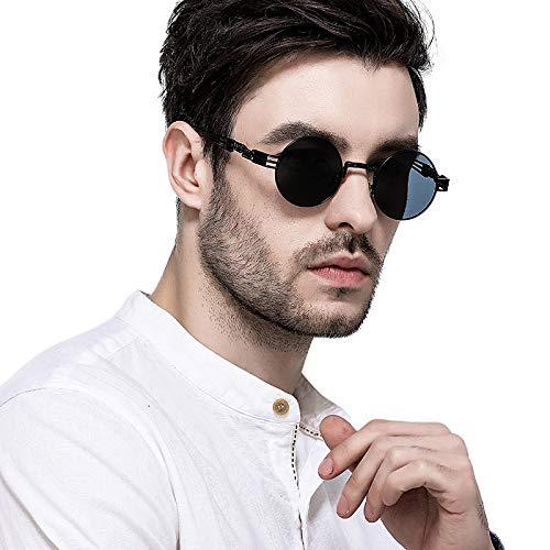 Frame Retro Design Sun Steam Vintage Black Wind Glasses Punk C Fashion Classic Sunglasses Unique SqOAT