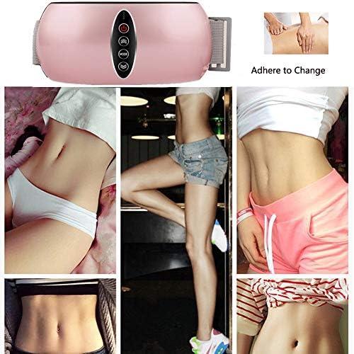 LEENY Massagegürtel Fitnesstraining Gewichtsverlust, Vibrations-gürtel Schlankheits für Abnehmen Fett Bauch Ausdünnen Perfekten Körper, Fat Burning Körperfett Reduzieren für Männer Damen