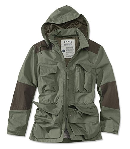 - Orvis Men's Around The World Jacket, Olive, Medium