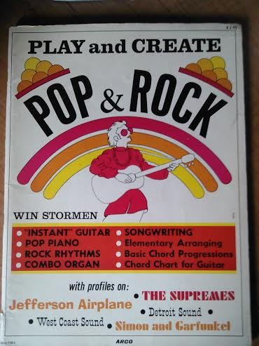 Play And Create Pop & Rock: Instant Guitar; Pop Piano; Rock Rhythms; Combo Organ; Songwriting; Elementary Arranging; Basic Chord Progressions; Chord Chart For Guitar - Guitar Chord Progressions Chart