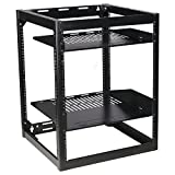 Component Series 15U Stackable Skeleton Rack (26'')