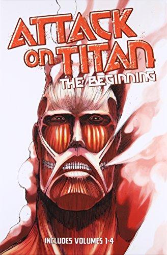Attack on Titan: The Beginning Box Set (Volumes 1-4) ()