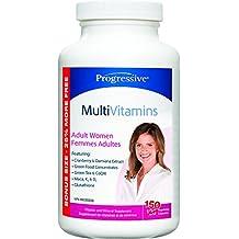 Progressive MultiVitamins for Adult Women - Bonus Size 150 Capsules