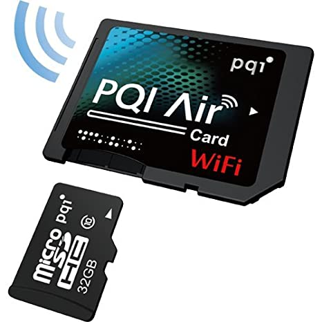 PQI Air Card - Tarjeta microSDHC con adaptador microSD ...