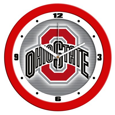 Ohio State University Buckeyes Dimension Wall Clock