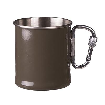 Tasse Mil-Tec avec mousqueton 250 ml