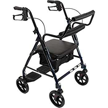 Amazon Com Elite Care Hybrid 2 In 1 Rollator Walking