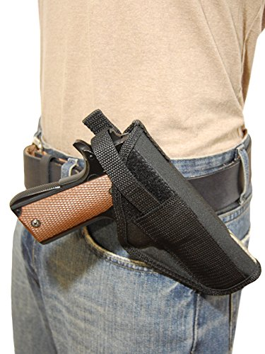 Barsony New Concealment Cross Draw Gun Holster for Kimber 1911 .40 .45 Left (Best Cross Draw Concealment Holster)