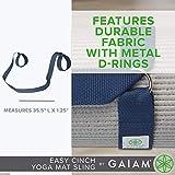 Gaiam Easy-Cinch Yoga Mat Sling, Assorted
