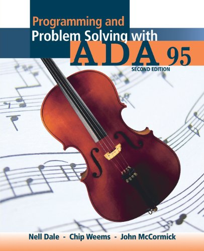 Programming and Problem Solving with Ada 95 by Brand: Jones Bartlett Learning