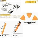 Ratchet Repair Tool Kit, Jakemy Professional Screwdriver Set, Magnetic Wristband, Torx, Ratchet Handle, Precision Magnetic Driver Bits for iphone 5 5S 6 6Plus 6S 7 7Plus 8 8Plus X