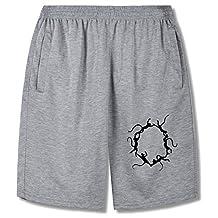 QAQ Chemical symbol,The monkey,The circle,Benzene ring Fashion Shorts Pants For mens