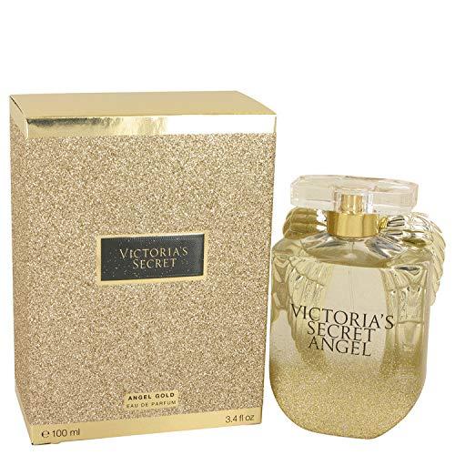 Victoria's Secret Angel Gold Eau De Parfum Spray for Women, 3.4 Ounce ()