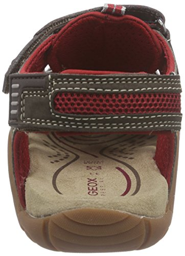 Geox Jr Sandal Kraze G - Zapatos Primeros Pasos Para Chico Marrón (Brown/Red)