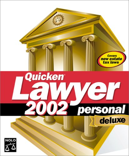 Quicken Lawyer 2002 Personal Deluxe (Lawyer Software Personal)