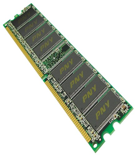 PNY 512 MB DDR1 400MHz DDR2 400 (PC2 3200) 184-Pin DDR SDRAM - MD0512SD1-400-V2 (Pc2 3200 Ddr Sdram Memory)