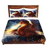 "DiaNoche Designs Lord of the Celesetial Dragons Cover, 2 Twin Duvet Only 68"" x 90"""