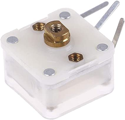 WSCHENG 5Pcs Duplex 223p 60pf//140pf 2.1mm Hole Shaft Radio Variable CapacitorS!